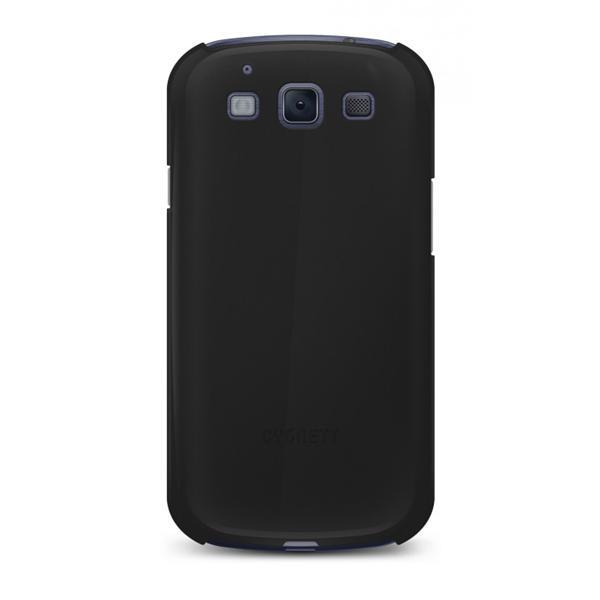 Cygnett, obal Form pre Samsung Galaxy S III, štíhly, pevný, lesklý, čierny