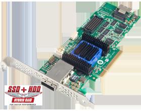 Adaptec AAR-6445, 8-portový (4int+4ext)SAS/SATA 512MB RAID 0, 1,5,6 PCI bulk