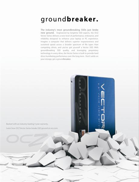 OCZ 128GB SSD Vector Series SATA 3 6Gb/s, 2.5