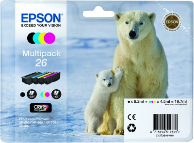 Epson atrament XP-600/XP-700 multipack CMYK