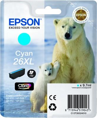 Epson atrament XP-600/XP-700/XP-800 cyan XL