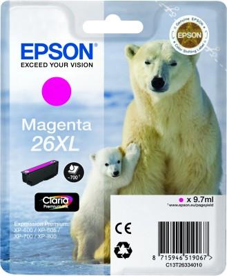 Epson atrament XP-600/XP-700/XP-800 magenta XL