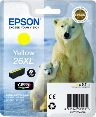 Epson atrament XP-600/XP-700/XP-800 yellow XL