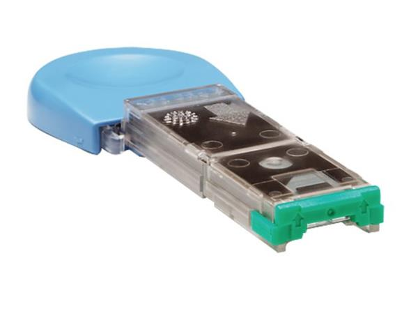 HP 1000-staples cartridge (LJ4200/4300 and LJ4250/4350) pack contains 3 easy-to-replace staple cartridges for the HP 500
