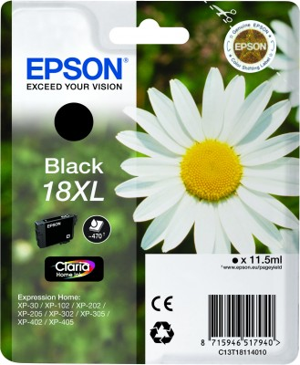 Epson atrament XP-305 black XL