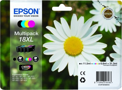 Epson atrament XP-305 multipack CMYK XL