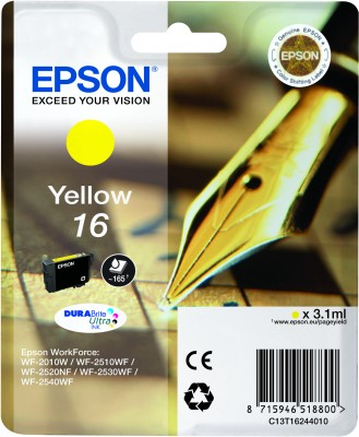 Epson atrament WF-2750 yellow