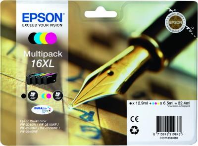 Epson atrament WF-2750 Multipack CMYK XL