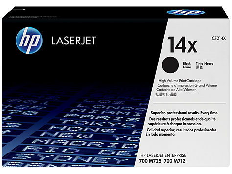 Toner HP 14X black