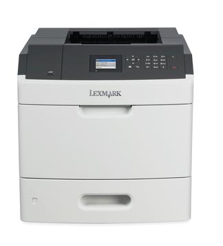 Lexmark MS811dn, mono laser, 1200dpi, 60ppm, 512MB, 800MHz, USB, DUPLEX, GLan
