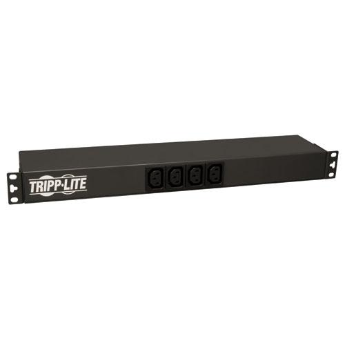 TrippLite Basic PDU, Basic PDU, 20A 100-240V, 1U Horizontal Rackmount, 2 C19 and 12 C13 outlets, C20 inlet, C20 input wi