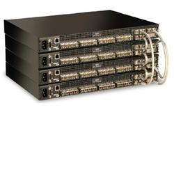 QLOGIC SANBOX 8GB FC Switch 20x (FC 8Gb ports), 4x (10Gb ports), 2x PWS