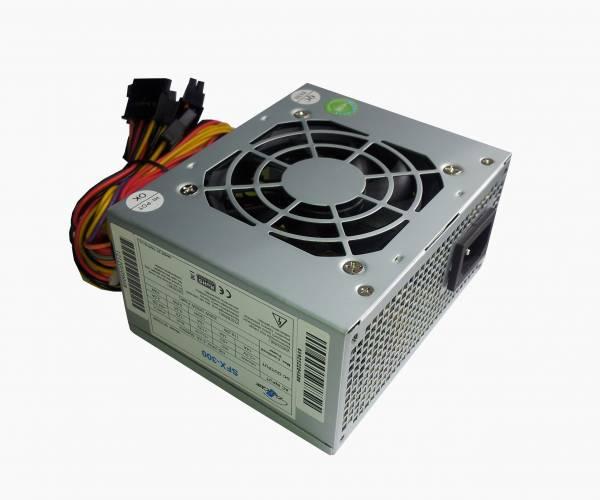 Eurocase 300W, SFX zdroj, 8cm fan, aktiv. PFC, 2xSATA, retail