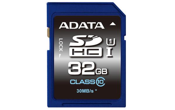 32 GB . SDXC/SDHC Premier UHS-I karta ADATA class 10 Ultra High Speed