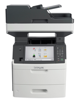 Lexmark MX711de, mono laser MFP, 40ppm,2400 dpi, 1GB, 800MHz, USB, GLan, Duplex,Fax
