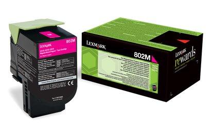 Lexmark 80C2SM0 CX310,CX410,CX510 Magenta Toner Cartridge 2k