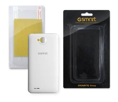 GIGABYTE Rio R1 kryt batérie ( biely) + ochranná fólia na displej