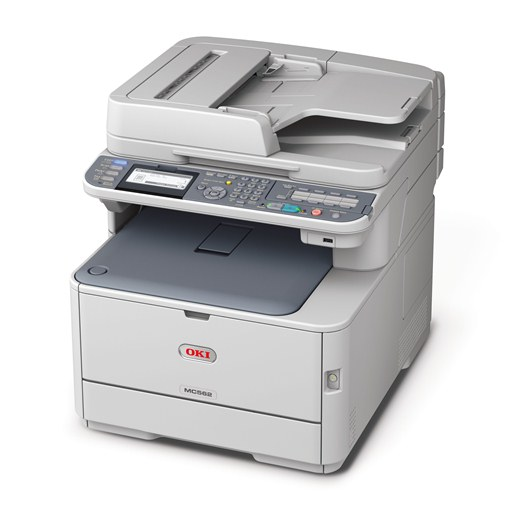 OKI MC562dnw farebna MFP A4 26-30str/min, USB, COPY, SCAN, FAX, DUPLEX, WIFI