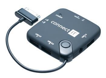 CONNECT IT čítačka kariet a USB HUB pre Samsung Galaxy Tab.