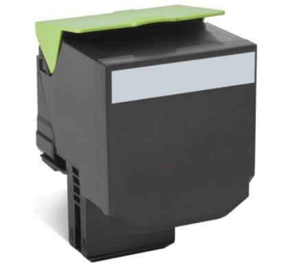 Lexmark 802XK Black Extra High Yield Return Program Toner Cartridge CX510 8K