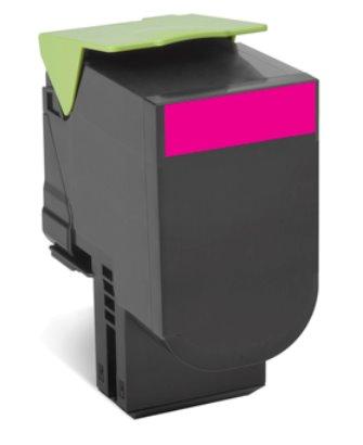 Lexmark 802XM Magenta Extra High Yield Return Program Toner Cartridge CX510 4K