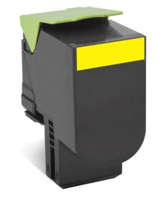 Lexmark 802XC Cyan Extra High Yield Return Program Toner Cartridge CX510 4K