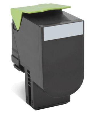 Lexmark 802HK CX410, CX510, Black High Yield Return Program Toner Cartridge 4k