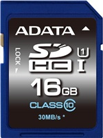8 GB . SDXC/SDHC Premier UHS-I karta ADATA class 10 Ultra High Speed