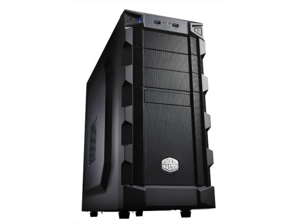 CoolerMaster case miditower K280, ATX, black, USB3.0, bez zdroja