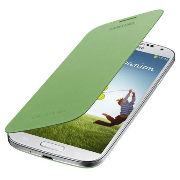 Samsung flipové púzdro pre Galaxy S IV (i9505), zelené