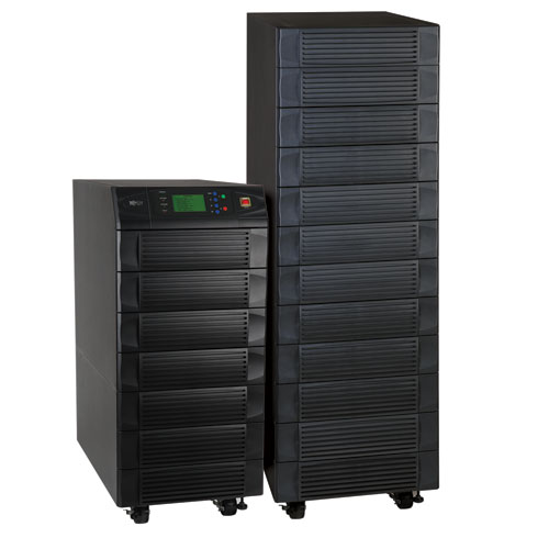 TrippLite SMARTONLINE™ 80kVA Modular 3-Phase UPS System, On-line Double-Conversion International UPS with Battery