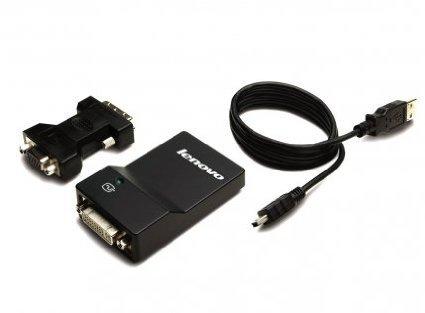 Lenovo USB 3.0 DVI/ VGA Mon Adapter