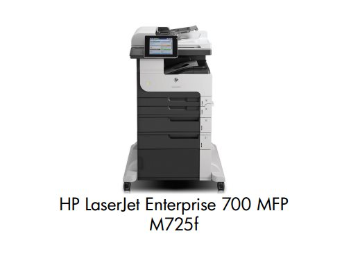 HP LaserJet Enterprise 700 MFP M725f A3