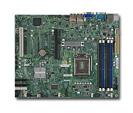 Supermicro MB XeonE3-1200 X9SCI-LN4F C204 4xGLAN RAID