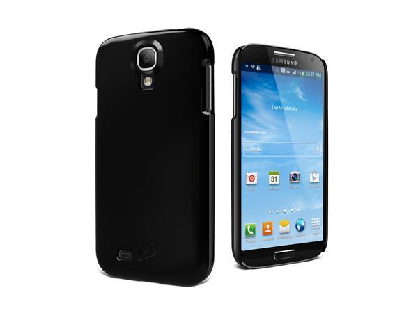 Cygnett, obal Form pre Samsung Galaxy S4 štíhly, pevný, lesklý, čierny