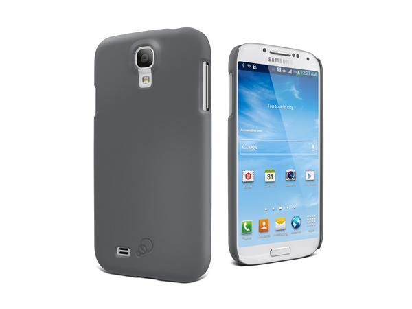 Cygnett, obal Feel pre Samsung Galaxy S4, štíhly, pevný, matný, šedý