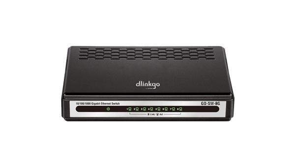 D-Link GO-SW-8G 8-port 1Gb EASY switch
