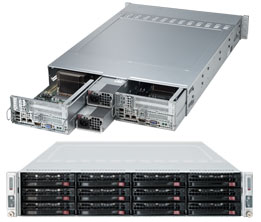 Supermicro Server Twin SYS-6027TR-D71RF 2U DP
