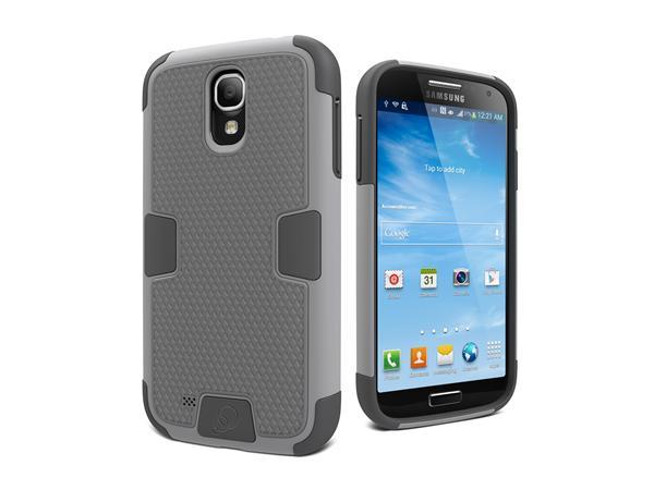 Cygnett, obal WorkMate Evolution pre Samsung Galaxy S4, extra odolný, šedý