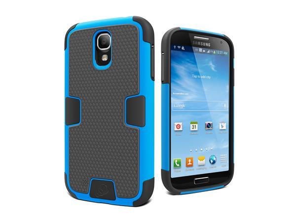 Cygnett, obal WorkMate Evolution pre Samsung Galaxy S4, extra odolný, modrý