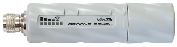 MIKROTIK Groove 52HPn + L3 (600MHz, 64 MB RAM, 1x LAN, 1x 2+5GHz 802.11a/b/g/n, N-male) outdoor