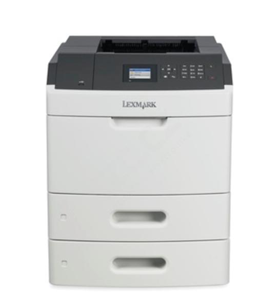 Lexmark MS812dtn, mono laser, 1200dpi, 66ppm, 512MB, 800MHz, USB, GLan