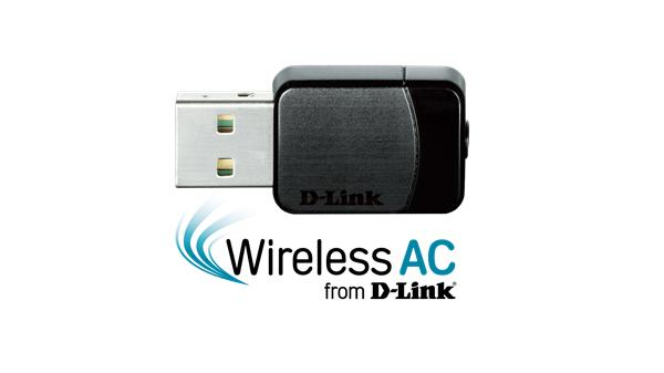 D-Link DWA-171 Wireless AC DualBand USB Micro Adapter
