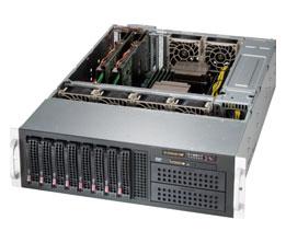 Supermicro Server SYS-6037R-72RFT+ 3U DP