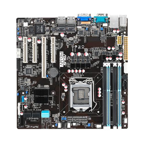 ASUS Serverboard P9D-MV soc.1150 C222 DDR3 ATX 2x GL