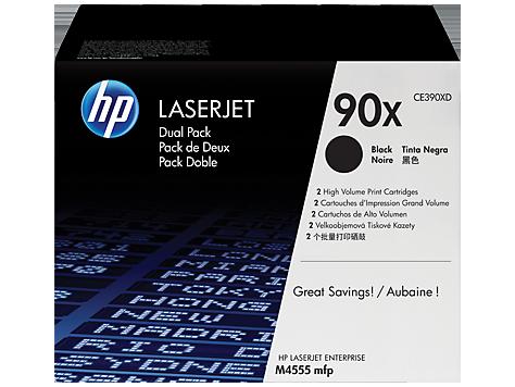 HP toner čierny HP90X dvojite balenie
