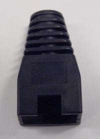 OEM kryt na mod.konektor RJ45 - čierna, (100ks)