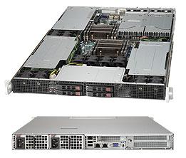 Supermicro Server SYS-1027GR-TQF-FM475 1U 4x NVIDIA Tesla M2075 Fermi GPU card