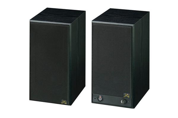 AQ M 22 - aktívne stereo Hi-Fi reproduktory - čierne