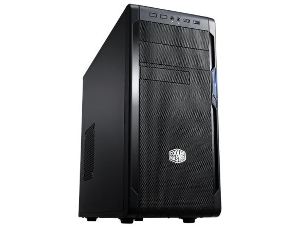 CoolerMaster case miditower series N300, ATX,čierna, USB3.0, bez zdroja
